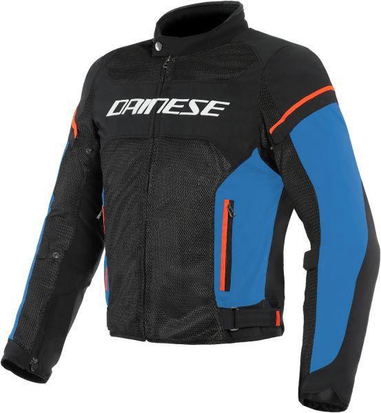 Dainese Air Frame D1 Tex Textiljacke Schwarz Blau