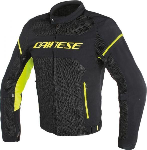 Dainese Air Frame D1 Tex Textiljacke Neongelb