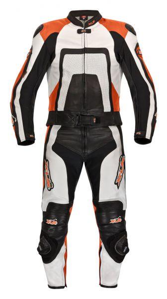 XLS Lederkombi Zweiteiler schwarz orange KTM