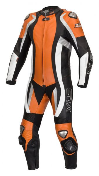 Daytona Orange Bundle Lederkombi + Stiefel + Handschuhe