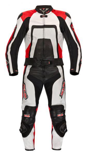 """Hochwertige 2-teilige Lederkombi von XLS Modell """"Red Carbon"""""""