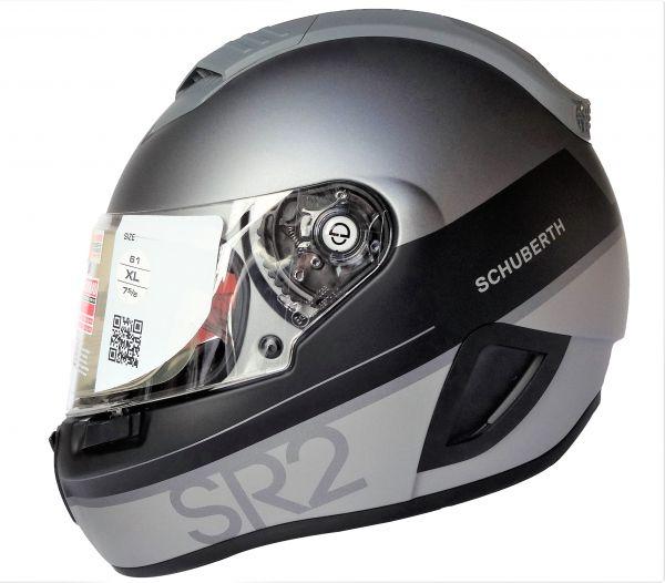 Schuberth SR2 Formular Grey Integralhelm Gr. M