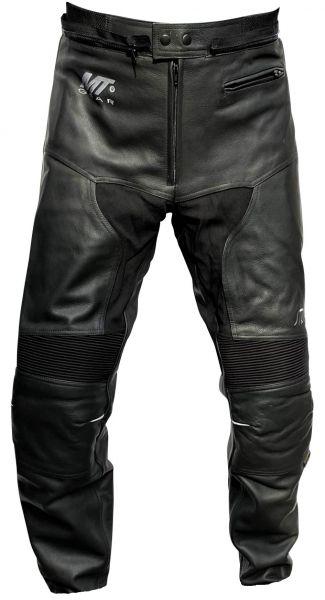 Damen Lederhose STRIKER Motorradhose Schwarz