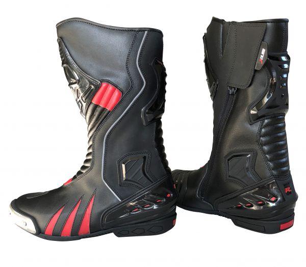 Motorradstiefel von XLS Racing Boots | Touringstiefel Gr. 42